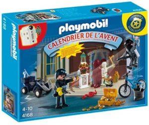 Set de playmobil de Calendario de Adviento 4168 Policías y Ladrones - Los mejores calendarios de Adviento de playmobil