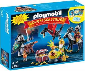 Set de playmobil de Calendario de Adviento 5493 Batalla del Tesoro del Dragón - Los mejores calendarios de Adviento de playmobil