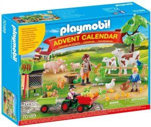 Set de playmobil de Calendario de Adviento 70189 En la granja - Los mejores calendarios de Adviento de playmobil