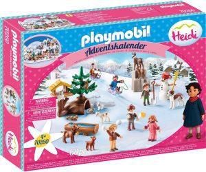 Set de playmobil de Calendario de Adviento 70260 Heidi - Los mejores calendarios de Adviento de playmobil