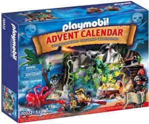 Set de playmobil de Calendario de Adviento 70322 Caza del Tesoro en la Cala del Pirata - Los mejores calendarios de Adviento de playmobil