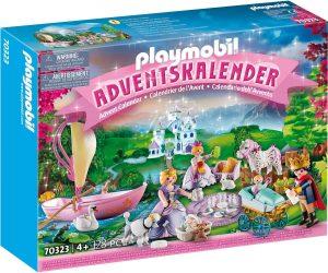Set de playmobil de Calendario de Adviento 70323 Pícnic Real - Los mejores calendarios de Adviento de playmobil