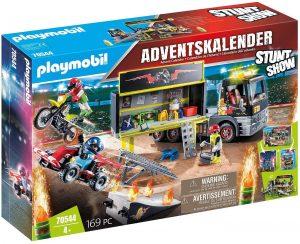 Set de playmobil de Calendario de Adviento 70544 Stuntshow - Los mejores calendarios de Adviento de playmobil