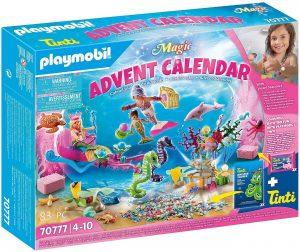 Set de playmobil de Calendario de Adviento 70777 Sirenas Diversión en el Baño - Los mejores calendarios de Adviento de playmobil