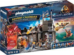 Set de playmobil de Calendario de Adviento 70778 Novelmore - Los mejores calendarios de Adviento de playmobil