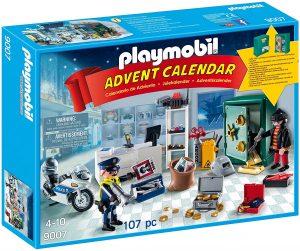 Set de playmobil de Calendario de Adviento 9007 Caza del robo - Los mejores calendarios de Adviento de playmobil