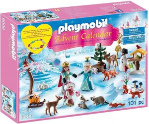 Set de playmobil de Calendario de Adviento 9008 Princesas en la nieve - Los mejores calendarios de Adviento de playmobil