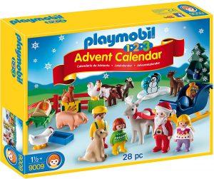 Set de playmobil de Calendario de Adviento 9009 Navidad en la Granja - Los mejores calendarios de Adviento de playmobil