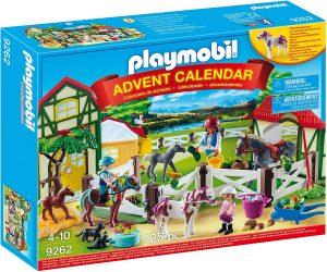 Set de playmobil de Calendario de Adviento 9262 Granja de Caballos - Los mejores calendarios de Adviento de playmobil