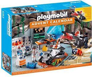 Set de playmobil de Calendario de Adviento 9263 Agentes - Los mejores calendarios de Adviento de playmobil