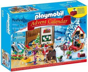 Set de playmobil de Calendario de Adviento 9264 Taller de Navidad - Los mejores calendarios de Adviento de playmobil
