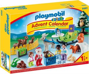 Set de playmobil de Calendario de Adviento 9391 Navidad en el bosque - Los mejores calendarios de Adviento de playmobil