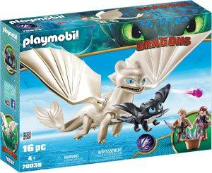 Set de playmobil de Como entrenar a tu dragón 70038 Furia Diurna y Bebé Dragón con Niños - Los mejores sets de playmobil de Como entrenar a tu dragón