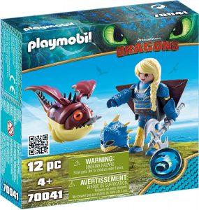 Set de playmobil de Como entrenar a tu dragón 70041 Astrid con Globoglob - Los mejores sets de playmobil de Como entrenar a tu dragón