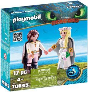 Set de playmobil de Como entrenar a tu dragón 70045 Hipo y Astrid - Los mejores sets de playmobil de Como entrenar a tu dragón
