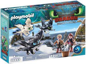 Set de playmobil de Como entrenar a tu dragón 70457 Niños Vikingos con bebés dragón - Los mejores sets de playmobil de Como entrenar a tu dragón