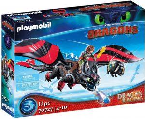 Set de playmobil de Como entrenar a tu dragón 70727 Dragon Racing - Hipo y Desdentado - Los mejores sets de playmobil de Como entrenar a tu dragón
