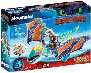 Set de playmobil de Como entrenar a tu dragón 70728 Dragon Racing - Astrid y Tormenta - Los mejores sets de playmobil de Como entrenar a tu dragón