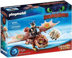 Set de playmobil de Como entrenar a tu dragón 70729 Dragon Racing - Barrilete y Patapez - Los mejores sets de playmobil de Como entrenar a tu dragón