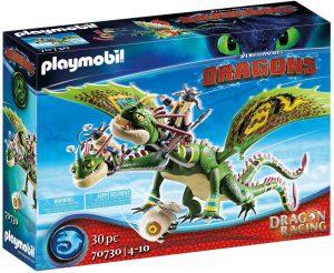 Set de playmobil de Como entrenar a tu dragón 70730 Dragon Racing - Dragón 2 Cabezas con Chusco y Brusca - Los mejores sets de playmobil de Como entrenar a tu dragón