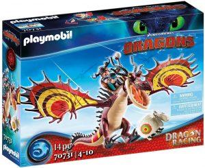 Set de playmobil de Como entrenar a tu dragón 70731 Dragon Racing - Garfios y Patán Mocoso - Los mejores sets de playmobil de Como entrenar a tu dragón