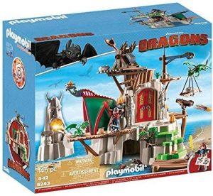 Set de playmobil de Como entrenar a tu dragón 9243 Isla de Berk - Los mejores sets de playmobil de Como entrenar a tu dragón
