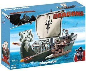 Set de playmobil de Como entrenar a tu dragón 9244 Barco de Drago - Los mejores sets de playmobil de Como entrenar a tu dragón