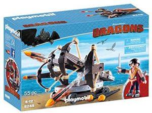 Set de playmobil de Como entrenar a tu dragón 9249 Eret con Ballesta de 4 Disparos - Los mejores sets de playmobil de Como entrenar a tu dragón