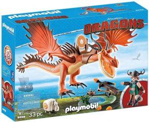 Set de playmobil de Como entrenar a tu dragón 9459 Garfios y Patán Mocoso - Los mejores sets de playmobil de Como entrenar a tu dragón
