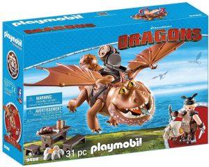 Set de playmobil de Como entrenar a tu dragón 9460 Barrilete y Patapez - Los mejores sets de playmobil de Como entrenar a tu dragón