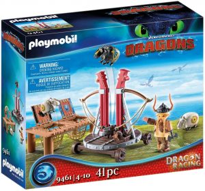 Set de playmobil de Como entrenar a tu dragón 9461 Bocón con Lanzadera de Ovejas - Los mejores sets de playmobil de Como entrenar a tu dragón