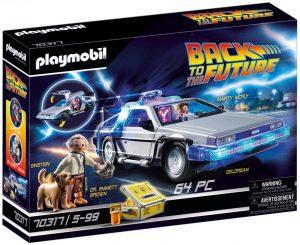 Set de playmobil de Regreso al futuro 70317 DeLorean - Los mejores sets de playmobil de Back to the Future - Regreso al futuro
