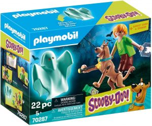 Set de playmobil de Scooby Doo 70287 de Scooby Doo y Shaggy con fantasma - Los mejores sets de playmobil de Scooby-Doo