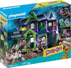 Set de playmobil de Scooby Doo 70361 de Aventura en la Mansión Misteriosa - Los mejores sets de playmobil de Scooby-Doo