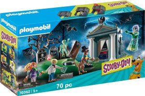 Set de playmobil de Scooby Doo 70362 de Aventura en el Cementerio - Los mejores sets de playmobil de Scooby-Doo