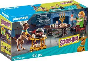Set de playmobil de Scooby Doo 70363 Cena con Shaggy - Los mejores sets de playmobil de Scooby-Doo