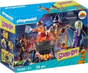 Set de playmobil de Scooby Doo 70366 de Aventura en el Caldero de la Bruja - Los mejores sets de playmobil de Scooby-Doo