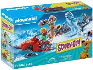 Set de playmobil de Scooby Doo 70706 Aventura con Snow Ghost - Los mejores sets de playmobil de Scooby-Doo