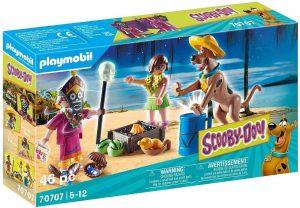 Set de playmobil de Scooby Doo 70707 Aventura con Witch Doctor - Los mejores sets de playmobil de Scooby-Doo