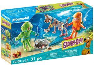 Set de playmobil de Scooby Doo 70708 Aventura con Ghost of Captain Cutler - Los mejores sets de playmobil de Scooby-Doo