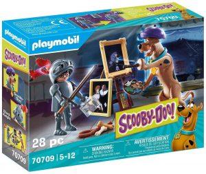 Set de playmobil de Scooby Doo 70709 Aventura con Black Knight - Los mejores sets de playmobil de Scooby-Doo