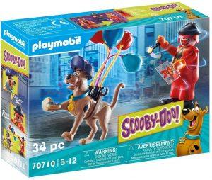 Set de playmobil de Scooby Doo 70710 Aventura con Ghost Clown - Los mejores sets de playmobil de Scooby-Doo