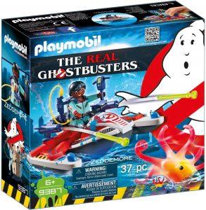 Set de playmobil de Zeddemore con Moto de Agua 9387 de los Cazafantasmas - Los mejores sets de playmobil de los Cazafantasmas - Ghostbusters