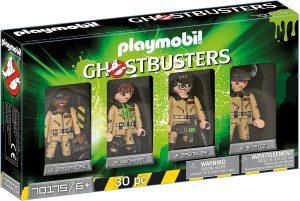 Set de playmobil de los Cazafantasmas 70175 Protagonistas de los Cazafanstamas - Los mejores sets de playmobil de los Cazafantasmas - Ghostbusters