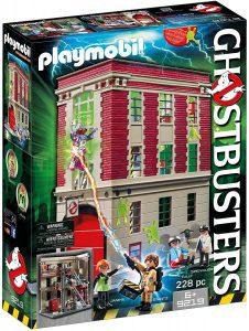 Set de playmobil de los Cazafantasmas 9219 Cuartel Parque de Bomberos - Los mejores sets de playmobil de los Cazafantasmas - Ghostbusters