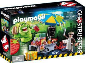 Set de playmobil de los Cazafantasmas 9222 Moquete y Hot Dogs - Los mejores sets de playmobil de los Cazafantasmas - Ghostbusters