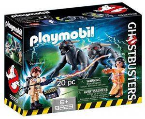 Set de playmobil de los Cazafantasmas 9223 Venkman y Terror Dogs - Los mejores sets de playmobil de los Cazafantasmas - Ghostbusters