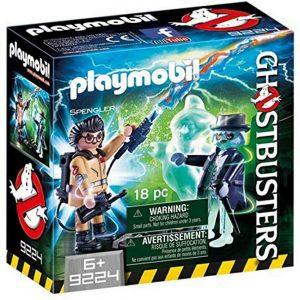 Set de playmobil de los Cazafantasmas 9224 Spengler y Ghost - Los mejores sets de playmobil de los Cazafantasmas - Ghostbusters