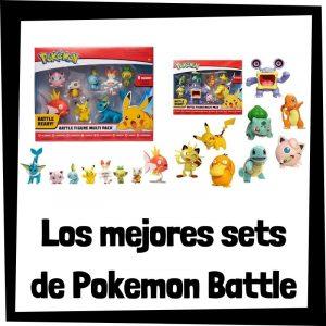 Sets de figuras de Pokemon Battle - Las mejores figuras de la colección de Pokemon Battle