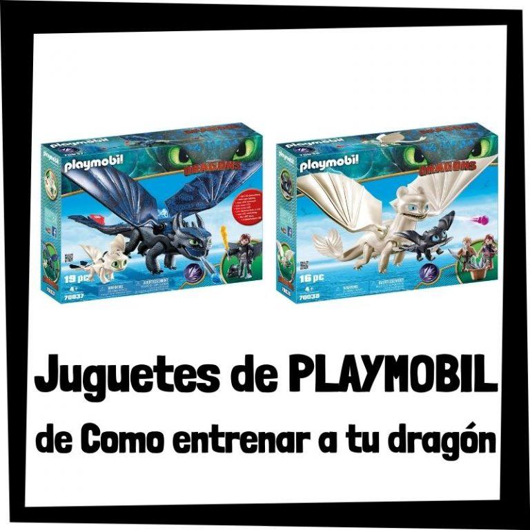 Lee más sobre el artículo Juguetes de Playmobil de Como entrenar a tu dragón